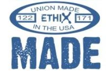 """Our Ethical Stamps / All of our merchandise is """"tagged"""" to clearly display which ethical standards it supports. We do all the background checking for you. You don't have to worry about the complexities of ecological concerns, fair trade and international solidarity in a global economy. That's our job! http://ethixmerch.com/content/how-use-our-site"""