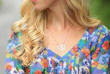 Fashion Bloggers feature My Monogram Necklace / Fashion bloggers wearing My Monogram Necklace's jewelry - outfits, looks and inspiratoin
