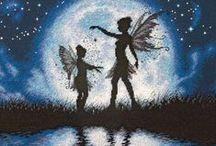 Cross stitch fairies