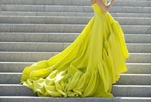 Yellow and chartreuse colour inspiration