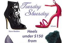 Tuesday Shoes-day! / Shoes TDF (to die for). Go get'em ladies! Check out our favorites in shoe fashion and see how we put them in our www.BattleShop.co Closets in our fantasy shopping and style challenge game!