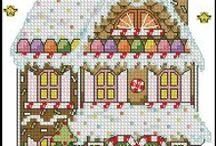 Cross stitch Christmas