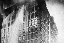 Triangle Shirtwaist Factory Fire / The fire caused the deaths of 146 garment workers they died from the fire, smoke inhalation or jumping to their deaths.The fire became a rallying cry for the international labor movement.  We remember because we are still fighting for social justice for for every worker around the world.
