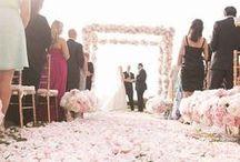 Decoração - Cerimônia - Casamentos / Decoraçao de cerimônia de casamento