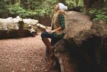 Glamping Fashion / Glamorous camping (GLAMPING) is the newest rage! Check out our favorite looks for bringing fashion to the forest and head to BattleShop.co this week to build your own Glamping inspired wardrobe to compete for AMEX gift cards.