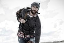 Mens Winter Style / Whether you're camping in freezing weather or hiking to work in sub-zero temps, conquer the cold with these looks.