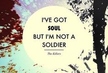 The Killers / Cast out of the night you got a foolish heart.