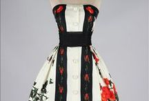 Vintage dresses, gowns and bridals (1950-1959)