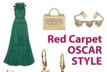 RED CARPET Shopping and Style / Scenes from www.BattleShop.co's Red Carpet fantasy shopping and style challenges! See what kind of style we loved from the Oscars, the Golden Globes and what dream outfits we built while we fantasy shopped.