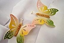 Angels & Butterflies / how to create with cold porcelain & air dry clays