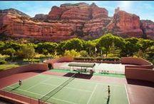 Courts de tennis / Courts de tennis extraordinaires