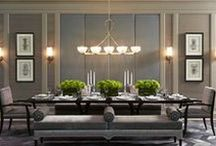 Dining room / Interior design