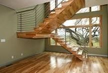 Designing Your Staircase / Information, design inspiration, and helpful tips for designing your perfect staircase.