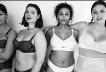 """'Plus' Size Fashion / Because we all know that so-called """"plus size"""" folks are the average size in North America. the """"plus"""" part is something the fashion industry and clothing manufacturers stick to for some reason."""