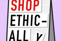 Ethics + Sustainability  / All things fashion and style related to ethics and sustainability.