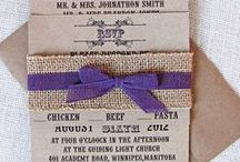 Wedding Stationary / by Heather Rapoza