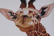 Giraffe in Art 1 / ART
