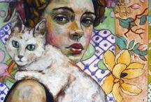 Women & Cats 1 / ART