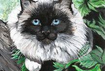 Cat Art 1 / ART