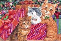 Christmas Cats 1 / ART
