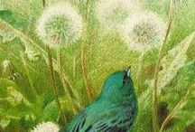 Dandelions in Art 1 / ART