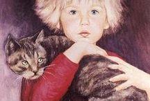 Girls & Cats 2 / ART
