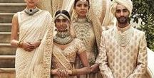 Sabyasachi Wedding Lehengas / A designer par excellence, Sabyasachi Mukherjee has inspired the brides to dream. And that dream is to look like a Princess on her wedding day. Wearing a 'Sabyasachi' lehenga for some brides is as exciting as the wedding itself. We help you achieve that dream. Find the most recent – and the rarest – Sabyasachi wedding lehengas with Bridelan, a personal shopper and styling consultancy for Indian weddings. Website: www.bridelan.com