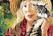 Women & Cats 4 / Art