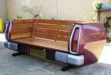 GARDEN - Upcycled Outdoor Furniture / Outdoor furniture made from other things