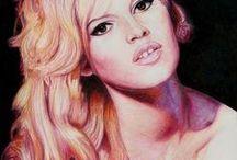 Brigitte Bardot / Art