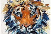 Tigers in art 1 / ART