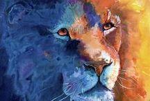 Big Cats in Art 1 / ART