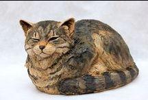 Cat Sculptures / ART