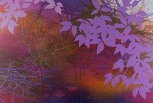Purple and Violet Art
