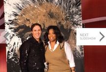 My Appearance on The OPRAH WINFREY Show / This was one of the most spectacular moments in my artistic career, without a doubt.  (Winter, 2009)  Thank-you, Oprah!