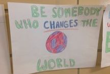 """I Have Hope For Our Future! / If you want to have hope in the world's future, L@@K at these amazing power thoughts by the Deerfield Elementary School kids, in response to my """"BE SOMEBODY!"""" performance."""
