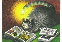My A B C 2 / A = ART .... B = BOOKS .... C = CATS