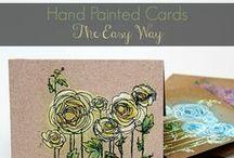 DIY cards / Birthday cards, Christmas cards and nice ideas.