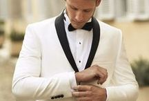 The Indian Groom - Wedding Reception ideas & inspiration / Like most dress codes these days, the rules at Indian weddings are now more personalised. If you have the knack to dress stylish, make your reception 'look' look grand with unique detailing.  Bridelan India shows how to overhaul your tuxedo look from the color to the collar, and how to wear a fit and cut that'll have all the bridesmaids batting their eyes. Bridelan - your personal wedding shopper & stylist. Website www.bridelan.com