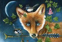 Fox in Art 3 / ART