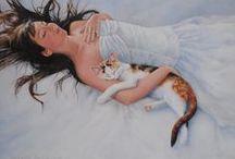 Women & Cats 7 / ART