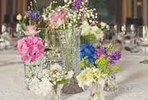 Wedding - Flowers / Ideas for your wedding in the spring 2016. Flowers.