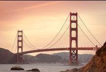 Golden Gate Bridge / Golden Gate Bridge San Francisco USA