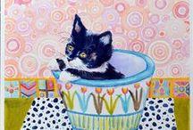 Cat Art .... Cute & Funny 5 / ART