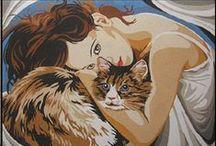 Women & Cats 8 / ART