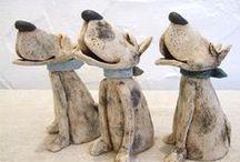 Dog Sculptures / ART