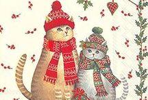 Christmas Cats 2 / ART