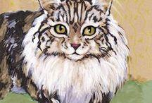 Cat Art 7 / Art