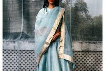 Raw Mango & Sanjay Garg - Saris & Contemporary Indian wear / Raw Mango, an Indian sari brand by the Rajasthan-born designer Sanjay Garg, takes hand-woven and traditional fabrics and turns them into sophisticated and distinctly contemporary saris. Their aesthetics is clean and minimalistic. Besides saris, their kurtas, lehengas and blouses are equally a rage. Shop for Raw Mango by Sanjay Garg with Bridelan, a personal shopping and bridal consultancy based in Mumbai, India. Website: www.bridelan.com