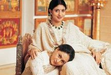 Chikankari Embroidery - Saris, Suits & Lehengas / Chikankari, a traditional form of Indian embroidery originating from Lucknow, looks best when worn in whites, and makes a woman look elegant and classy at once. Every bride must own a piece of Chikankari in her wedding trousseau with either a classic lehenga, an hierloom sari or a mukaish embroidery dupatta. Get cues from how Indian bollywood A-listers wear Chikankari with élan. A personal shopping and bridal consultancy based in Mumbai, Bridelan India. Website: www.bridelan.com